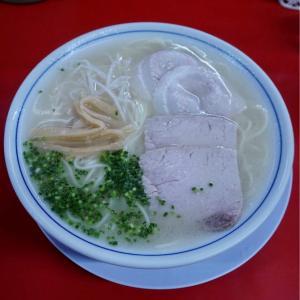 『南京ラーメン 黒門』やっぱりしっかり食べられる大盛りで正解!