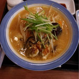 『リンガーハット 八幡永犬丸店』付き合って、牡蠣味噌ちゃんぽん!