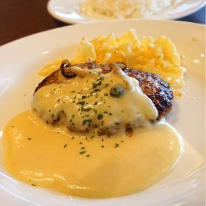 『ステーキハウス フォルクス黒崎店』初めて食べるディジョンマスタードソースハンバーグ!食欲の沸く逸品。