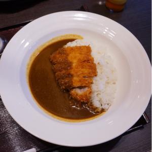 『とんかつ濵かつ北九州本城店』牡蠣フライは10月からということでカツカレー!