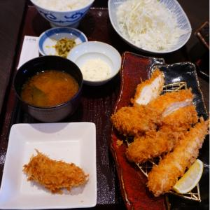 『とんかつ濵かつ北九州本城店』牡蠣フライがたべたくて!