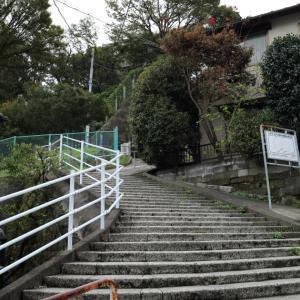 反省の横浜_階段登っても
