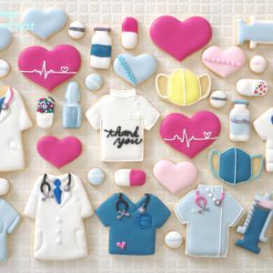 Medical series(メディカルシリーズ)のアイシングクッキー