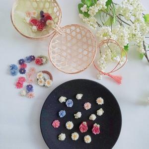 ALA 和花シリーズ「花クッキー」を作ったよ