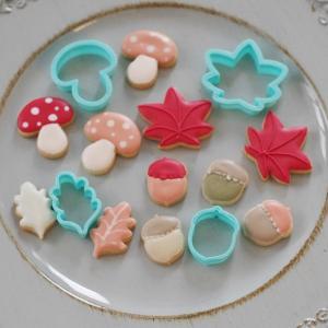 秋も深まるアイシングクッキー