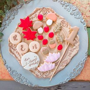 オーダーアイシングクッキー~happy birthday~