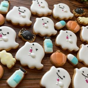 今年のハロウィンクッキーデザインにいかがですか?