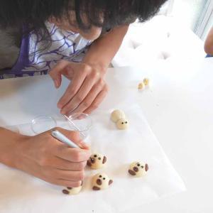 3D Deco cookiesで可愛いわんこ