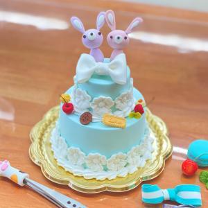 ボツの試作ケーキ土台