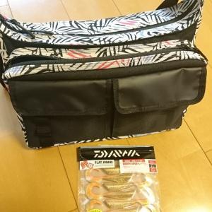 日曜日にヒラメ用の鞄と、ワーム買った