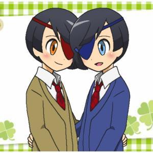 オリキャライラスト・双子の澪川兄弟。