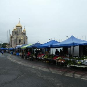 週末ウラジオストク その5 中央広場から金角大橋までお散歩。
