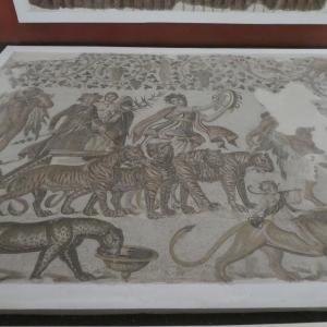 チュニジア旅行 その9 ローマモザイク画の宝庫、スース考古学博物館。