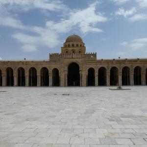 チュニジア旅行 その13 世界遺産、カイルアンのグランドモスク。