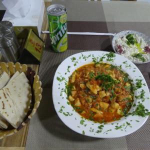 ヨルダン旅行 その5 Jordan Heart Restaurantで夕食。