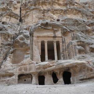 ヨルダン旅行 その15 ペトラ博物館とリトル・ペトラ。