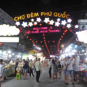週末ベトナム・フーコック島 その10 ナイトマーケットに行ったみた!
