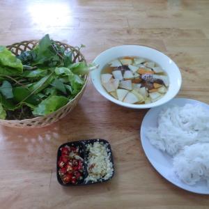週末ベトナム・フーコック島 その15 ブンチャー・ハノイで軽く夕食。