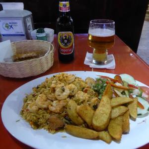 中米3か国旅行 その34 サン・ホセで最後の夕食。