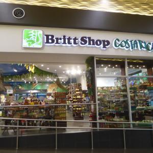 中米3か国旅行 その35 コスタリカ土産に最適、Brittのコーヒーとチョコレート。