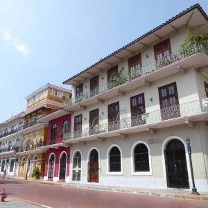 中米3か国旅行 その39 おしゃれすぎるパナマ歴史地区。