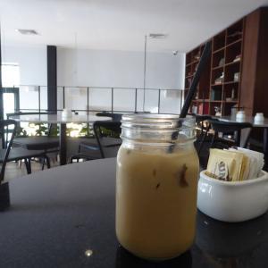 中米3か国旅行 その41 パナマ歴史地区のおしゃれカフェ。