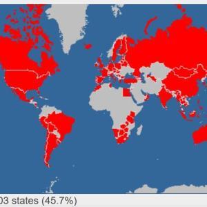 100か国訪問達成しました。