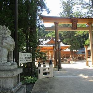 西穂・独標(お宿と神社)