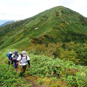 2021.9.25 『待根山』(1,002m)~『ピンネシリ山』(1,100m)  仲良しおしゃべり登山