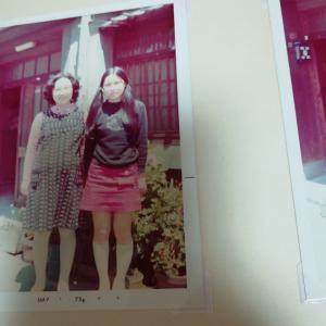 亡き母の若かりし頃の写真いくつか