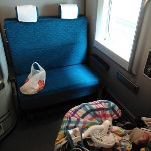 念願の!新幹線旅行