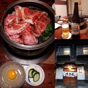 函館観光・阿佐利 の絶品すき焼き、ラッキーピエロ、他