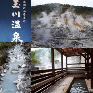 秋田県・日本一の強酸性、湧出量の玉川温泉、
