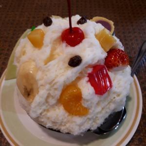 鹿児島グルメ(^^)/白くま(氷アイス)、両棒餅、流しそうめん、薩摩料理他