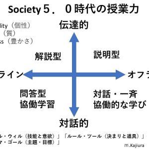 347・コロナ以降の授業力(オンラインとオフライン)