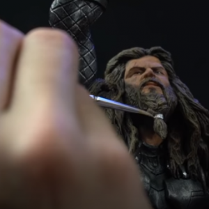【最強動画strongest Video】彫刻ソー&ストームブレイカー・Sculpting THOR with Stormbreaker | Avengers Endgame EP. 2