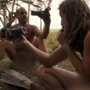 【最強動画strongest Video】面識のない男女の全裸サバイバル・