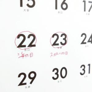令和3年7月22日はどんな日?