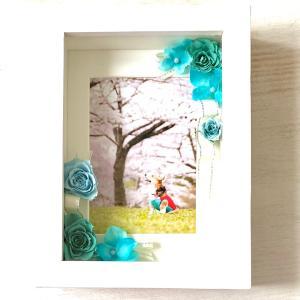 写真をお花で彩り思い出と一緒にプレゼントに!