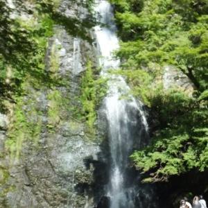 自然を満喫・・・雄大な「箕面大滝」にパワーを貰いました・・・