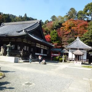 京都・柳谷観音(楊谷寺)にお参りして、紅葉も楽しみました。