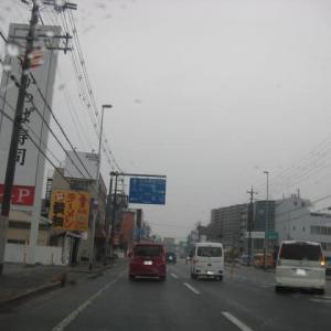 非常事態宣言が発出中の雨の中、奈良まで、健康を取り戻すべく、気分転換のドライブです。