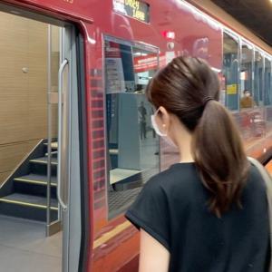 新型列車で名古屋へ☆★