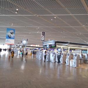 成田空港第1ターミナルから