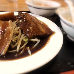 波乱万丈な誰かの人生が聞こえてきた。中華店で角煮定食