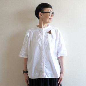 【少ない服で着回す】夏の平日シャツは、これに決定!SUNVALLEYのオックスシャツ。
