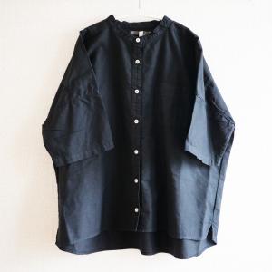 【服を着続ける】シャツを白から黒へ。染めに出した服が仕上がりました。