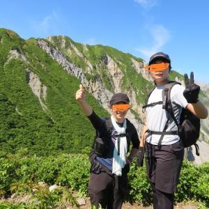 伯耆大山 ユートピアコースへ挑戦