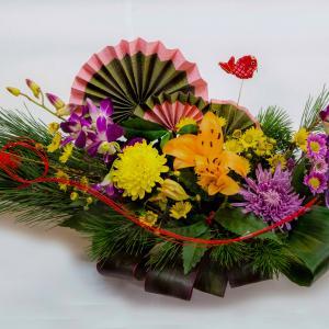 お正月のお花『宝船』