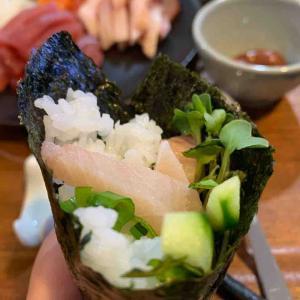 寿司が食べたい...